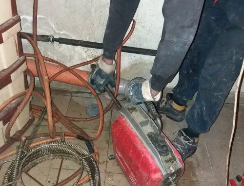 Отпушване на сифон и канализация в София кв. Горна баня